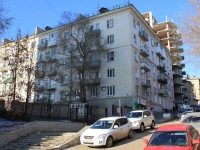 Saratov, Babushkin vzvoz st, house 9. Apartment house with a store on the ground-floor