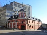 Saratov, temple в честь Воздвижения Честнаго и Животворящего Креста Господня, Lermontov st, house 28
