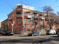 Saratov, Peskovsky alley, house 2. Apartment house