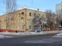 Саратов, улица Ломоносова, дом 5. многоквартирный дом