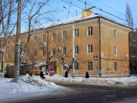 Саратов, улица Ломоносова, дом 11. многоквартирный дом
