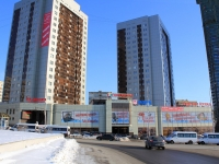 Saratov, Sokolovaya st, house 10/16. Apartment house with a store on the ground-floor