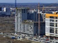 Yekaterinburg,  , house 19. building under construction