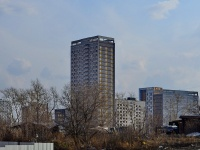 Екатеринбург, улица Хрустальногорская, дом 87. многоквартирный дом