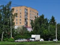 Екатеринбург, улица Титова, дом 14. жилой дом с магазином