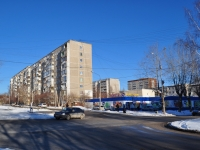 Yekaterinburg, Voennaya st, house 10. Apartment house