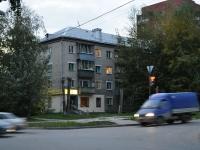 Екатеринбург, улица Военная, дом 14. многоквартирный дом
