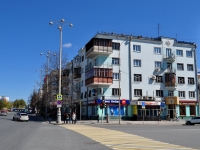 neighbour house: avenue. Lenin, house 36. Apartment house with a store on the ground-floor