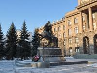 Екатеринбург, памятник маршалу Г.К. ЖуковуЛенина проспект, памятник маршалу Г.К. Жукову
