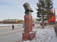 Yekaterinburg, monument Д.Н. Мамину-СибирякуLenin avenue, monument Д.Н. Мамину-Сибиряку