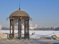 Yekaterinburg, small architectural form Ротонда на правом берегу р. ИсетьLenin avenue, small architectural form Ротонда на правом берегу р. Исеть