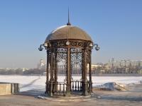 соседний дом: пр-кт. Ленина. малая архитектурная форма Ротонда на правом берегу р. Исеть