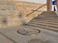 Екатеринбург, памятный знак Нулевая точка отсчета километровЛенина проспект, памятный знак Нулевая точка отсчета километров