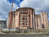 Екатеринбург, улица Авиационная, дом 27. строящееся здание