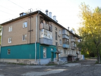 Yekaterinburg, Patris Lumumba st, house 52. Apartment house