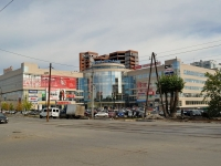 neighbour house: st. 8th Marta, house 149. retail entertainment center Мегаполис
