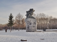 Yekaterinburg, monument воинам-спортсменам Урала, участникам ВОВBolshakov st, monument воинам-спортсменам Урала, участникам ВОВ
