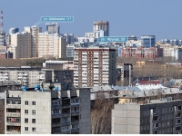 Yekaterinburg, Frunze st, house 58. Apartment house