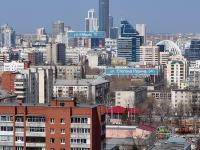 Екатеринбург, улица Степана Разина, дом 54. многоквартирный дом