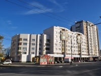 Yekaterinburg, Shchors st, house 128. Apartment house with a store on the ground-floor