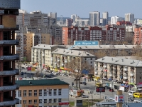 Yekaterinburg, Shchors st, house 96. Apartment house