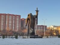 Екатеринбург, памятник Уральцам, ковавшим Победуулица Декабристов, памятник Уральцам, ковавшим Победу