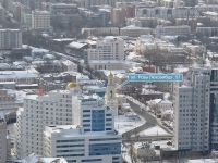 叶卡捷琳堡市, 大教堂 Свято-Троицкий кафедральный собор, Roza Lyuksemburg st, 房屋 57