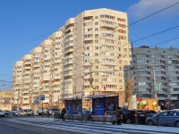 Yekaterinburg, Lunacharsky st, house 57. Apartment house