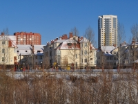 Yekaterinburg, Lunacharsky st, house 240/7. Apartment house