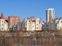 Yekaterinburg, Lunacharsky st, house 240/8. Apartment house