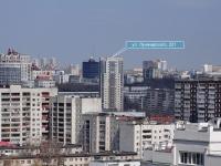 Yekaterinburg, Lunacharsky st, house 221. Apartment house
