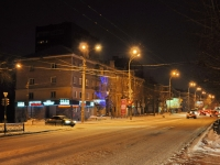 Yekaterinburg, Belinsky st, house 210А. Apartment house with a store on the ground-floor