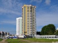 Екатеринбург, улица Юлиуса Фучика, дом 13. строящееся здание