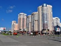Екатеринбург, улица Юлиуса Фучика, дом 5. многоквартирный дом