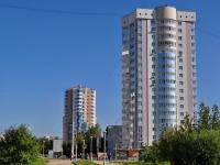 Екатеринбург, улица Юлиуса Фучика, дом 7. многоквартирный дом