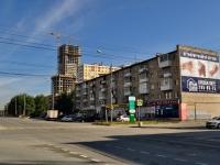 Екатеринбург, улица Машинная, дом 11. многоквартирный дом