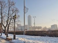 "Yekaterinburg, office building бизнес-центр ""Высоцкий"", Malyshev st, house 51"