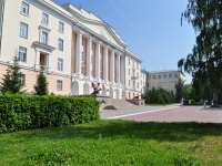 Yekaterinburg, trade school ЕкСВУ, Екатеринбургское суворовское военное училище, Mira st, house 26