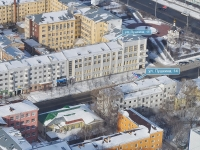 Yekaterinburg, Pushkin st, house 14. Apartment house