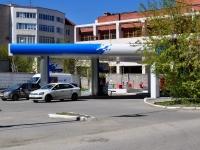 neighbour house: st. Gogol, house 32. fuel filling station Газпромнефть-Урал, Ленинский район, №7