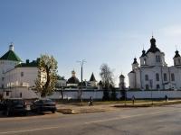 Екатеринбург, храм в честь Всемилостивого Спаса, улица Бисертская, дом 12А