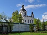 neighbour house: st. Bisertskaya, house 12А. temple в честь Всемилостивого Спаса