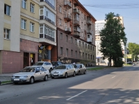 Yekaterinburg, Popov st, house 27. Apartment house