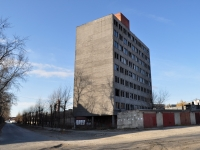 Екатеринбург, улица Монтерская, неиспользуемое здание