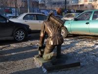 Yekaterinburg, monument Военному связистуShejnkmana st, monument Военному связисту