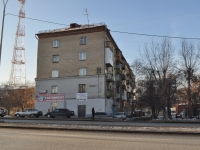 Yekaterinburg, Moskovskaya st, house 42. Apartment house