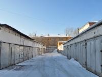Yekaterinburg, st Korolenko. garage (parking)
