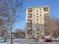 Yekaterinburg, Sovetskaya st, house 10. Apartment house