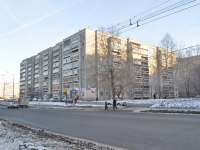 Yekaterinburg, Sovetskaya st, house 58. Apartment house