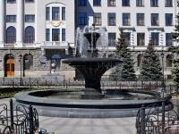 Yekaterinburg, Chelyuskintsev st, fountain